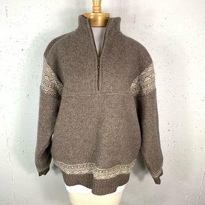 Vintage Icelandic Medium Design Wool Pullover